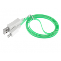 Visible LED Light Micro USB a Cable Charger Data Sync Cable USB Mini USB Cable for HTC Samsung S4 S3